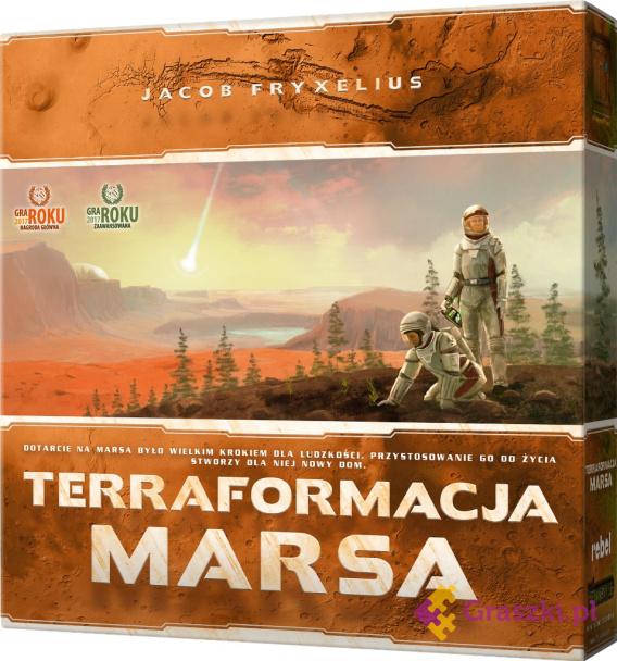 Terraformacja Marsa (edycja gra roku)   Rebel
